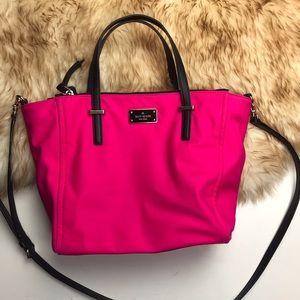 Kate Spade Loden Cabaret Pink Tote Crossbody Small